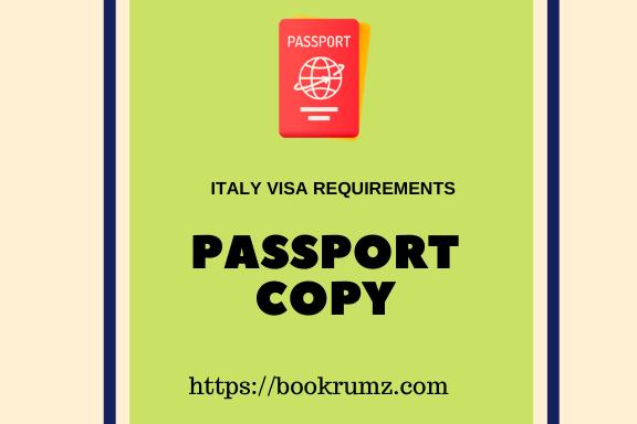 tourist visa for italy