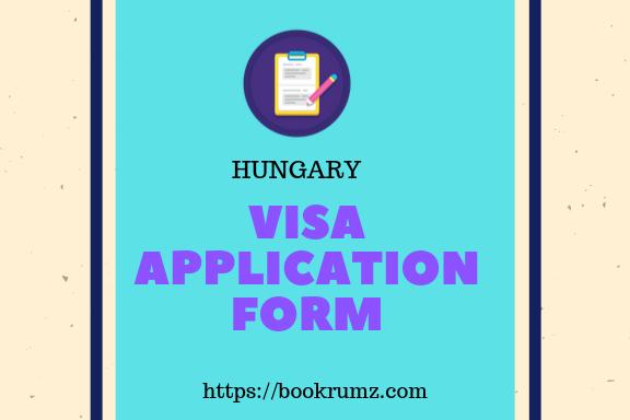 Documents Checklist Of Hungary Visa On Bookrumz Com