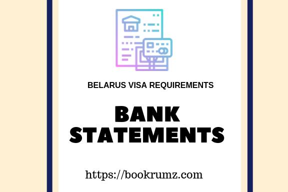 documents checklist of belarus visa