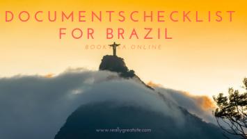documents checklist for brazil Visa