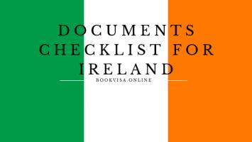 documents checklist for ireland
