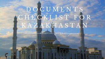 documents checklist for kazakhastan