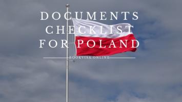 documents checklist for poland
