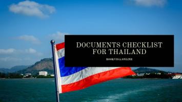 documents checklist for thailand (1)