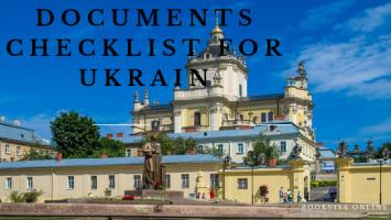 documents checklist for ukrain