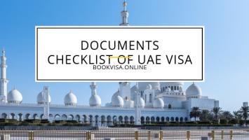 documents checklist of uae visa