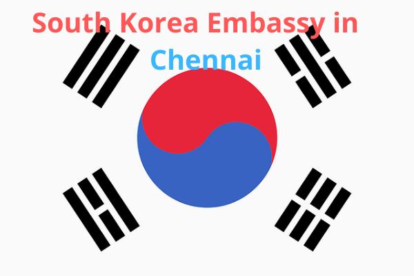south korea embassy in chennai
